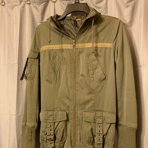 H&M Army Green Jacket Size 6